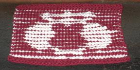 Hedwig Illusion Dishcloth