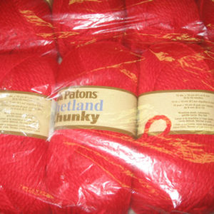 Patons - Shetland Chunky - Red Robin