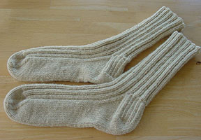 Hunters' Socks - Suffolk Worsted