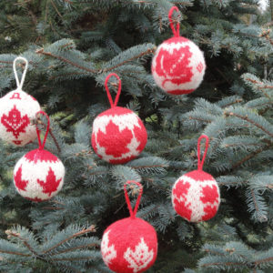 Canadian Christmas Balls