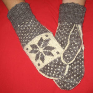 Snowflake Mittens - Pattern Only