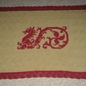 Hagrid's Dragon Blankie - Pattern Only