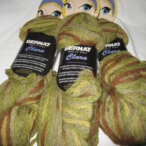 Bernat - Knit or Knot - Clara - Green/Brown