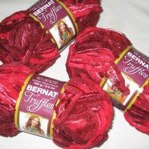 Bernat - Truffles - Cherry Red