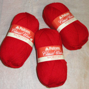 Patons - Classic Wool - Bright Red