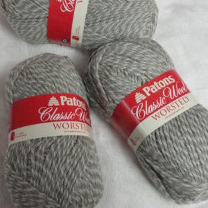 Patons - Classic Wool - Light Grey Marl