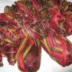 Frilly Scarf Yarn - Autumn