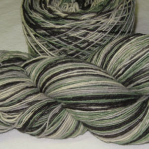Single Ply - Self-striping - Salt and Pepper Pistachio