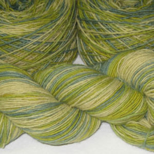 Single Ply - Variegated - Goldenrod/Indigo