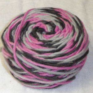 Softspun - Variegated - Pink & Black Attack