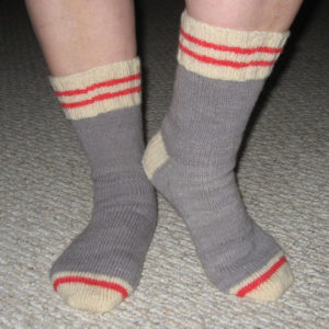 Classic Work Socks - Pattern Only