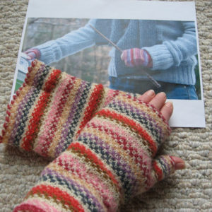 Hermione's Fingerless Mittens - Deathly Hallows - Pattern Only