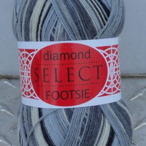 Diamond Footsie - 4350 - greys