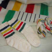 Double Down - Self-striping - Heritage - Sample Socks B